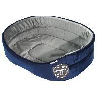 Corbeille - Panier - Coussin - Hamac Panier mousse Patchy 55cm - Bleu et gris - Pour chien