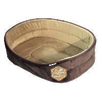 Corbeille - Panier - Coussin - Hamac Panier mousse Patchy 55cm - Chocolat et taupe - Pour chien