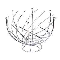 Corbeille - Paniere FRANDIS Corbeille a fruits spirale Metal Chrome