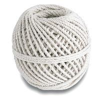 Corde - Sangle - Sandow - Chaine Cordeau coton câblé - Résistance a la rupture indicative 20 kg - Ø 2.5 mm x 285 m Generique