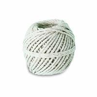 Corde - Sangle - Sandow - Chaine Cordeau coton tressé - Résistance a la rupture indicative 15 kg - Ø 1.5 mm x 66 m Generique