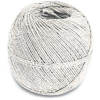 Corde - Sangle - Sandow - Chaine Ficelle en lin - L 170 m - Blanc