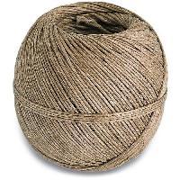 Corde - Sangle - Sandow - Chaine Ficelle en lin - L 90 m - Beige ecru