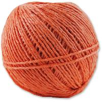 Corde - Sangle - Sandow - Chaine Ficelle polypropylene - L 90 m x Ø 1.6 mm - Orange - Aucune