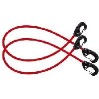 Corde - Sangle - Sandow - Chaine Sandows mousquetons 60cm x 8mm x2 - Joubert - ADNAuto