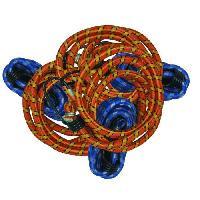 Corde - Sangle - Sandow - Chaine TEC HIT Jeu de 6 sandows 1 metre Tech-it