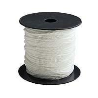 Corde - Sangle - Sandow - Chaine Tresse - Polypropylene - 6 mm x 100 m - Blanc