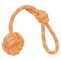 Corde De Jeu Pour Animal Corde de jeu avec balle grillagee - D 7x37cm Trixie