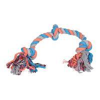Corde De Jeu Pour Animal Jouet pour chien - Corde - Coton - 3 noeuds - 50cm
