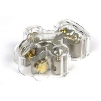 Cosses Batteries Cosse de Batterie - 1x20mm2 4x10mm2 protection - Borne MOINS - Caliber