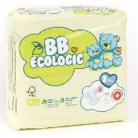 Couche Jetable - Couche D?apprentissage BEBE ECOLOGIC - Couches taille 2 - 32 couches