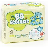 Couche Jetable - Couche D?apprentissage BEBE ECOLOGIC - Couches taille 3 - 30 couches