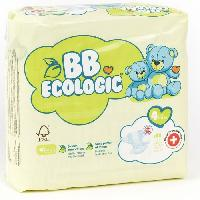 Couche Jetable - Couche D?apprentissage BEBE ECOLOGIC - Couches taille 4 - 28 couches