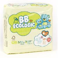 Couche Jetable - Couche D?apprentissage BEBE ECOLOGIC - Couches taille 6 - 22 couches