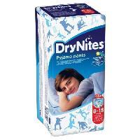 Couche Jetable - Couche D?apprentissage Culotte Dry Nites Boy 8-15 Ans - 27-57 Kg