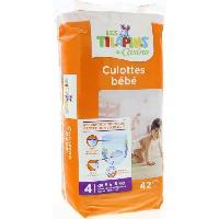Couche Jetable - Couche D?apprentissage Culottes bebe Taille 4 8 a 15 kg X42