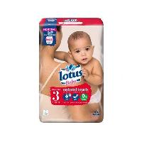 Couche Jetable - Couche D?apprentissage ESSITY Lotus Baby Touch Taille 3 - 40 couches