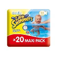 Couche Jetable - Couche D?apprentissage HUGGIES Maxi Pack Little Swimmers - Taille 2-3 - 20 Couches de bain