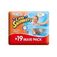 Couche Jetable - Couche D?apprentissage HUGGIES Maxi Pack Little Swimmers - Taille 5/6 - 19 Couches de bain