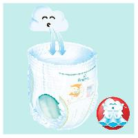 Couche Jetable - Couche D?apprentissage PAMPERS BABY-DRY PANTS Taille 5+ - 120 couches - Pack 1 mois Aucune