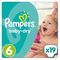 Couche Lavable Pampers Baby-Dry Taille 6. 13-18 kg - 19 Couches