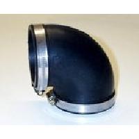 Coudes Coude Silicone - necessaire pour KAD 406 - D70 L110 - Noir Bmc