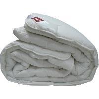 Couette ABEIL Couette chaude 100% coton Bio Confort Sensation 140x200 cm blanc