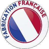 Couette ABEIL Couette tempérée BICOLORE 220x240cm - Blanc & Gris chiné