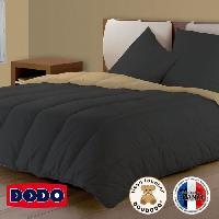 Couette DODO Couette Bicolore Gris /Beige 140x200cm Aucune