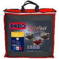 Couette DODO Couette Bicolore Gris /Beige 220x240cm Aucune