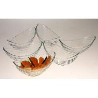 Coupelle A Glace - Coupe A Glace RECEPTION 1611535 Lot de 6 coupes a glace en verre Venezia - 18cl