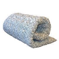 Coussin De Sol - Matelas De Sol Matelas de sol Coton Imprime Clover 60x120 cm noir et blanc