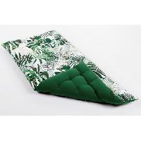 Coussin De Sol - Matelas De Sol Matelas de sol souple 100 coton imprime PARADISE 120x60x5cm - Vert - Cotton Wood