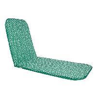 Coussin D'exterieur - Coussin De Bain De Soleil - Coussin De Chaise De Jardin Bain de soleil Sol - 190x60 cm - Vert
