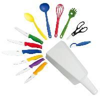 Couteau De Cuisine Set 13 pieces- L'indispensable- ETIKKA