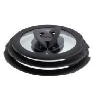 Couvercle Vendu Seul TEFAL Couvercles L9931012 bouton butterfly 16-18-20cm noir et blanc