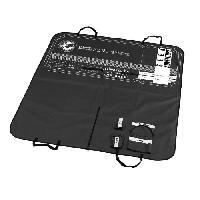 Couverture - Plaid EBI Plaid pour sieges de voiture 150x145cm -Boarding pass -Noir