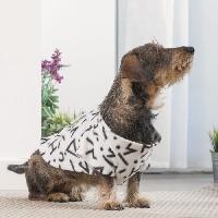 Couverture - Plaid INNOVAGOODS Couverture amanches Symbols Snug Snug One Doggy - Blanc - Pour chien
