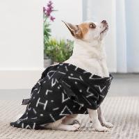 Couverture - Plaid INNOVAGOODS Couverture amanches Symbols Snug Snug One Doggy - Noir - Pour chien