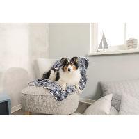 Couverture - Plaid TRIXIE Couverture Tammy 150 × 100 cm - Bleu et beige - Pour chien