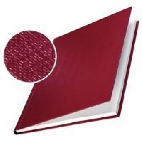 Couverture - Protege-document Lot 10 Couvertures Rigides 10.5mm Rouge Bordeaux