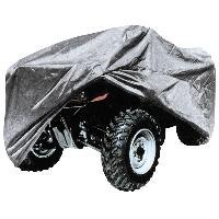 Couverture De Protection Vehicule - Bache Vehicule Housse de Quad - Taille L 220x125x85cm - ADNAuto