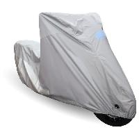 Couverture De Protection Vehicule - Bache Vehicule Housse de moto PVC Evo - Gris