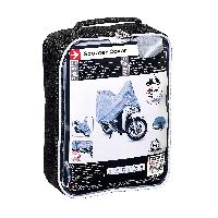 Couverture De Protection Vehicule - Bache Vehicule Housse de scooter Taille M 158x72x119CM - ADNAuto