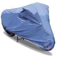 Couverture De Protection Vehicule - Bache Vehicule Housse moto - bache moto scooter bleu - S -183 x 89 x 119 cm - Custo Auto