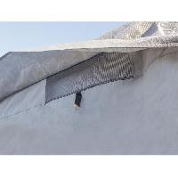Couverture De Protection Vehicule - Bache Vehicule Housse pour Camping-Car 650 x 235 x 270 cm - Gris