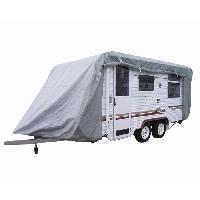 Couverture De Protection Vehicule - Bache Vehicule Housse protection caravane Taille M - Custo Auto