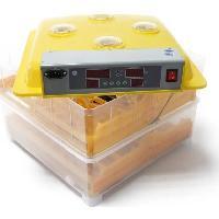 Couveuse - Incubateur POILS et PLUMES Kit couveuse automatique 112 oeufs - 50 x 47 x 37 cm - Jaune - Poils & Plumes Basse-cour