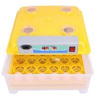 Couveuse - Incubateur POILS et PLUMES Kit couveuse automatique 35 oeufs - 50 x 28 x 37 cm - Jaune - Poils & Plumes Basse-cour