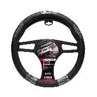Couvre-volant Couvre volant Race Sport Noir Grip Look Carbone - ADNAuto